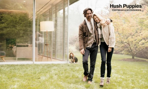 American Hush Puppies footwear and accessories brand.