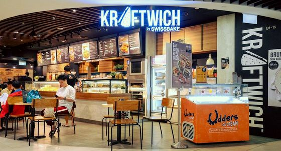 Kraftwich by Swissbake Singapore - Outlet at Hillion Mall.
