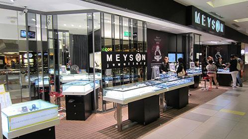 Meyson stores in Singapore - Outlet at NEX Mall.