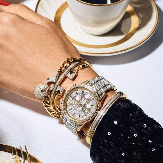 Michael Kors jewelry & watch.
