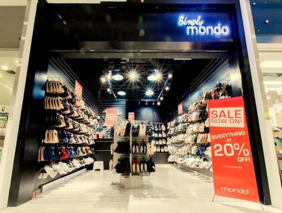 Mondo Shoe Shops in Singapore - AMK Hub.