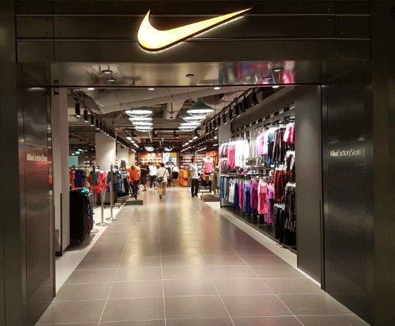 Nike shops in Singapore - Factory outlet store at IMM.