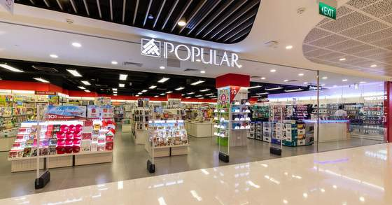 POPULAR stores in singapore - Outlet at VivoCity.