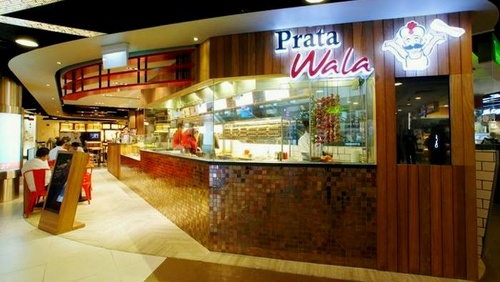 Prata Wala restaurants Singapore - Outlet at Tampines Mall.