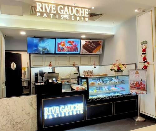 Rive Gauche Patisserie at Parkway Parade in Singapore.