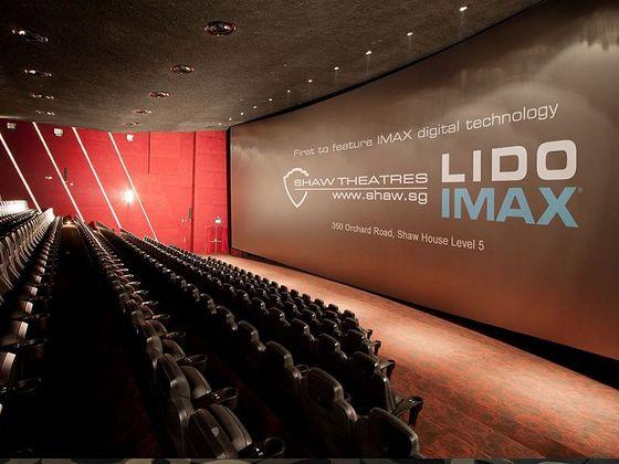 Shaw Theatres Lido -Movie Theatres in Singapore.