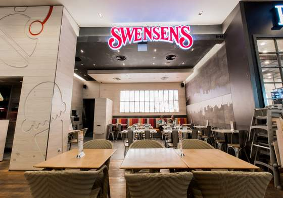 Swensen's outlets in Singapore - Restaurant at Jurong Point.