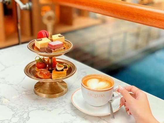 Afternoon tea set.