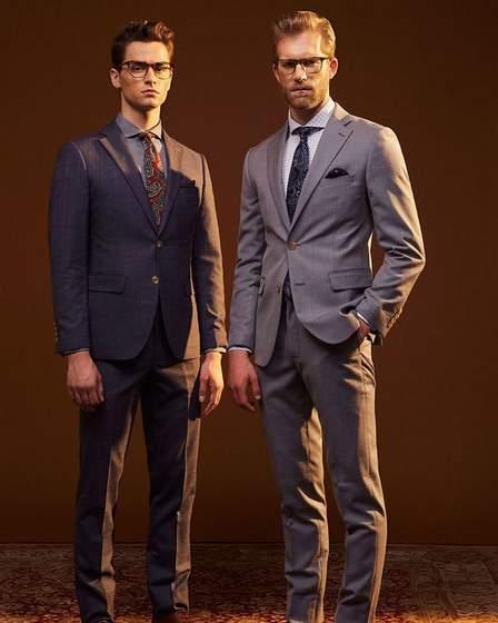 Benjamin Barker men's fashion 2020.