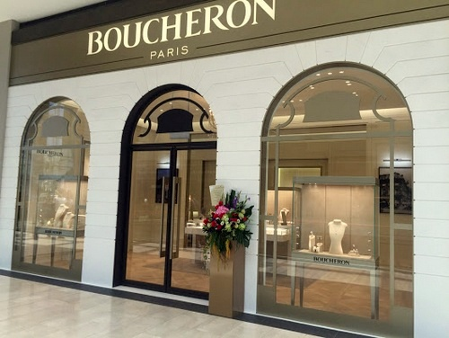 Boucheron jewellery & watch store Marina Bay Sands Singapore.