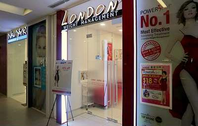 London Weight Management Singapore - Outlet at NEX Mall.