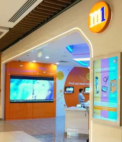 M1 shop at IMM Building.