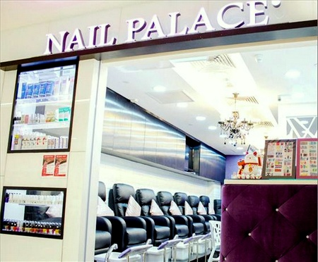 Nail Palace outlets Singapore - Salon at Junction 8.
