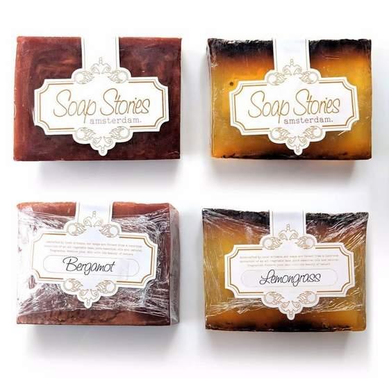 Soap Stores shops Singapore - Bergamot and Lemongrass Soaps.