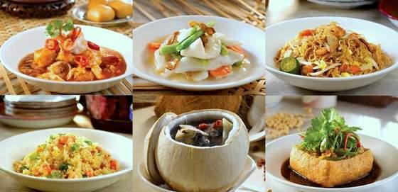 Soup Restaurant meal.