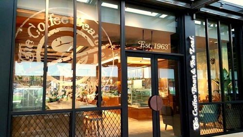 The Coffee Bean & Tea Leaf - Outlet at Marine Cove, Singapore.
