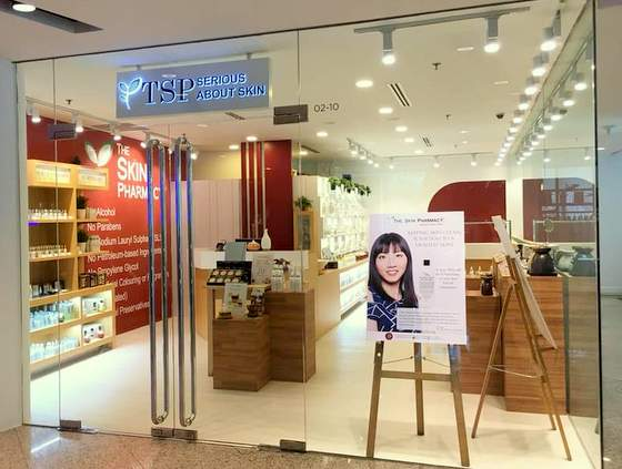 The Skin Pharmacy Singapore - Outlet at Wheelock Place.