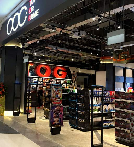 TOG (Toy Or Game) flagship shop at Bugis Plus.