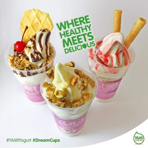 Yami Yogurt Dreamcups.