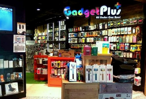 Gadget Plus store Plaza Singapura Singapore.