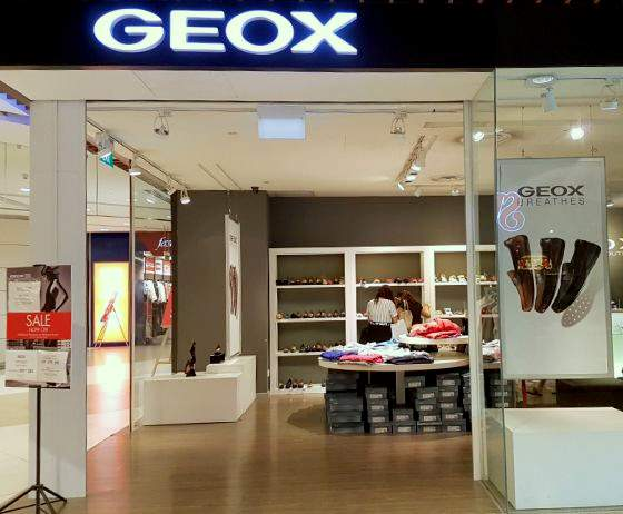 Geox Outlets in Singapore - Italian