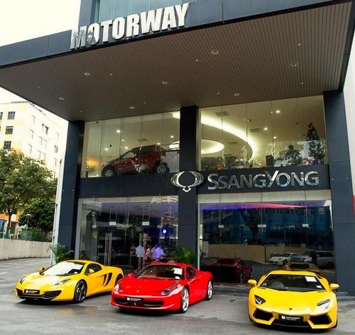 Motorway Car Rentals Singapore.