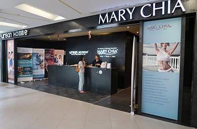 Urban Homme outlets Singapore - Beauty salon at NEX Mall.