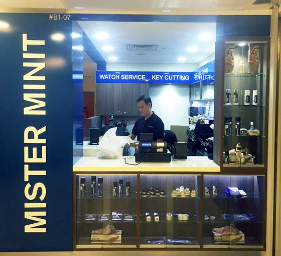 Mister Minit outlets Singapore - Northpoint City.