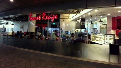 Secret Recipe Outlets Singapore - Restaurant & cake shop at Toa Payoh.
