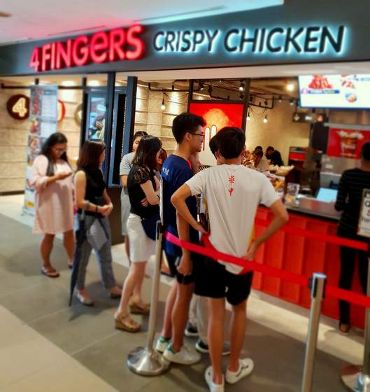 4FINGERS Crispy Chicken - Korean Fried Chicken Restaurants - Junction 8.