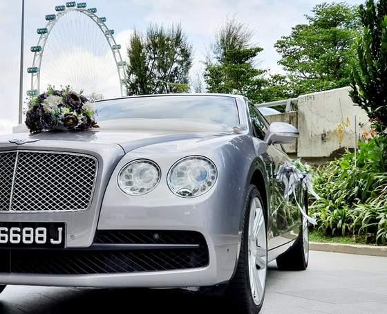 Bentley rental Singapore.