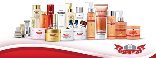Dr.Ci:Labo cosmetics products.