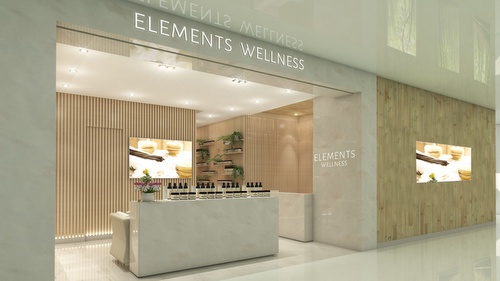 Elements Wellness spa The Centrepoint Singapore.