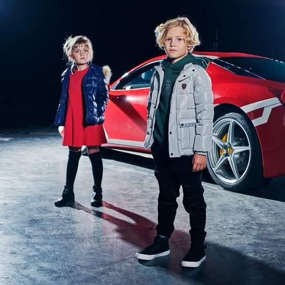 Ferrari Junior children's clothing 2020.
