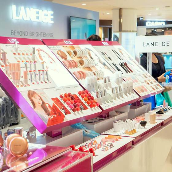 Laneige Singapore Korean Cosmetics Shops.