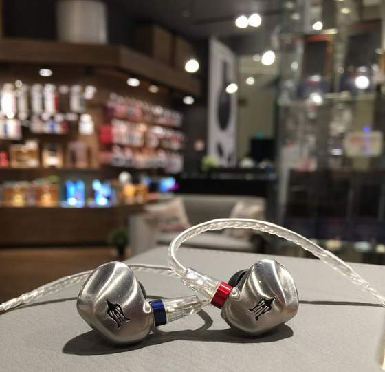 Meze Audio RAI SOLO earbuds.