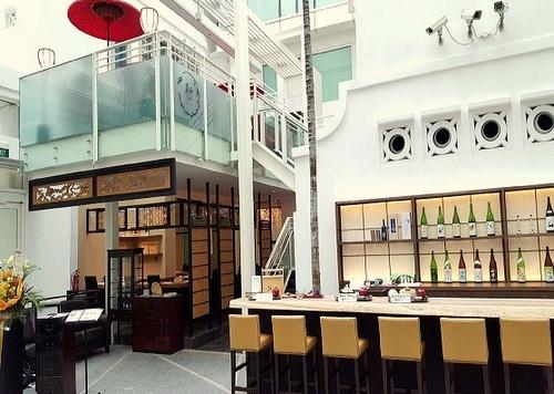 Ryu's Japanese restaurant & sake bar Capitol Piazza Singapore.