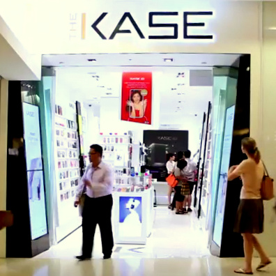 The Kase mobile accessories shop ION Orchard Singapore.
