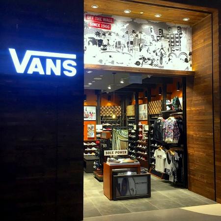 vans shop
