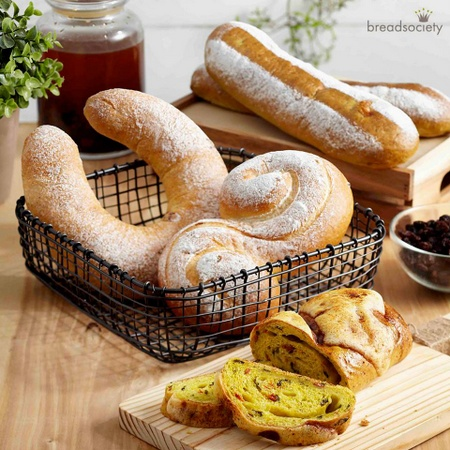 Bread Society natural yeast buns.