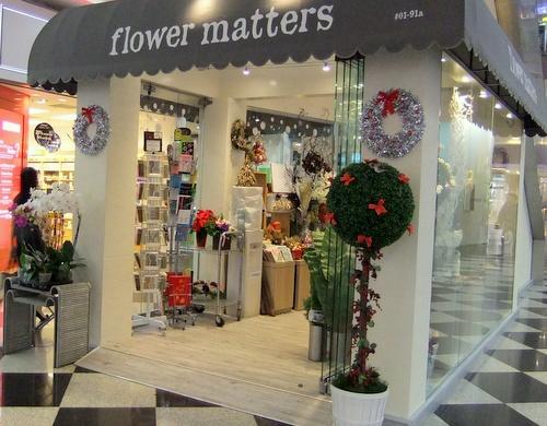 Flower Matters - Flower Shops in Singapore - Millenia Walk.