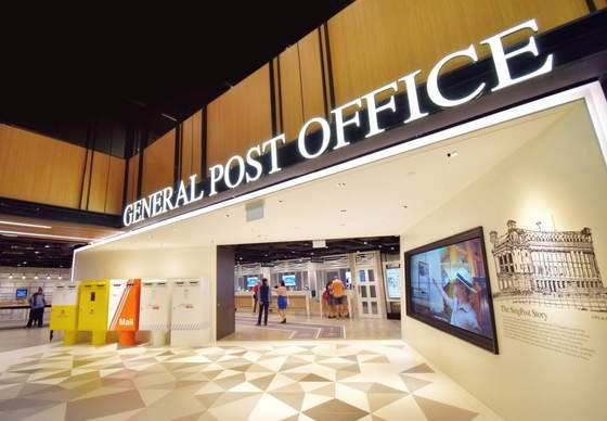 General Post Office - SingPost Centre.