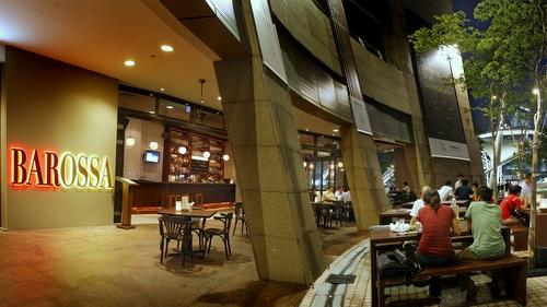 Barossa - Australian restaurants in Singapore - Esplanade Mall.