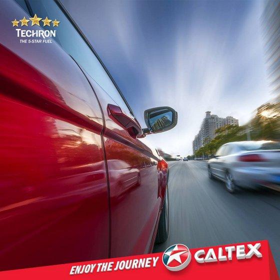 Caltex Techron Fuel.