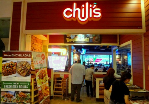 Chili's American Bar & Grill Tex-Mex restaurant Tanglin Mall Singapore.
