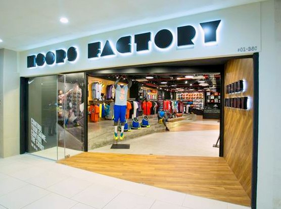 Hoops Factory - Basketball Shops in