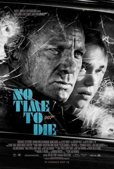 No Time To Die Poster.
