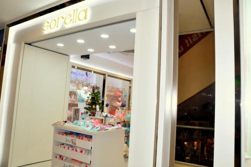 Sorella lingerie store Hougang Mall Singapore.