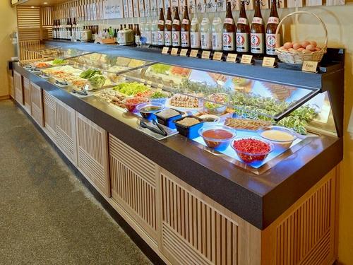 Suki-Ya Japanese buffet dining Singapore.