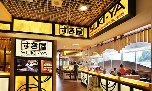 Suki-Ya Japanese buffet restaurant Heartland Mall Kovan Singapore.